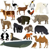 Animals 1 — Stock Vector