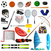 Sport set — Stockvector