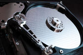 Binary data on hard drive — Stock Photo