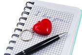 Deklaracja miłości — Zdjęcie stockowe