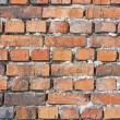 Royalty-Free Stock Photo: Texture of red brick wall