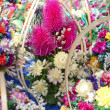 Bouquet of decorative dried flowers — Stok Fotoğraf #26686557