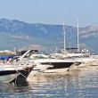 Stock Photo: Yachts and boats at berth in Budva