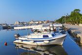 豪华游艇码头在布德瓦 — 图库照片