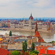 Stock Photo: Budapest view of Parliament hdr