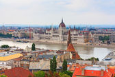 Budapest view of the Parliament — Photo