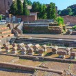 Ruins of ancient Rome — Stock Photo