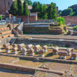 Stock Photo: Ruins of ancient Rome