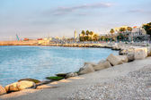 Embankment of Bari Italy hdr — Stock Photo