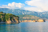 View of the coast of Budva — Stock Photo