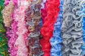 Beautiful multi-colored lace ribbon — Stock fotografie