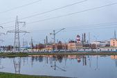 Chemical plant in Belarus — Foto Stock