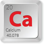 Calcium element — Stock Vector