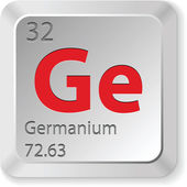 Germanium element — Stock Vector