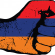 Armenian fist — Stock Vector