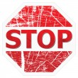 Stop sign — Stockvectorbeeld