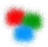 RGB color — Stock Vector