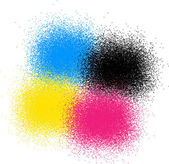 CMYK colors — Stock Vector