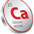 Calcium element — Stock Vector #26242037