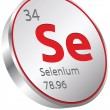 Stock Vector: Selenium element