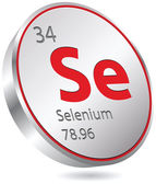 Selenium element — Stock Vector