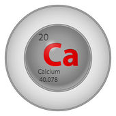 Calcium element — Stock Vector
