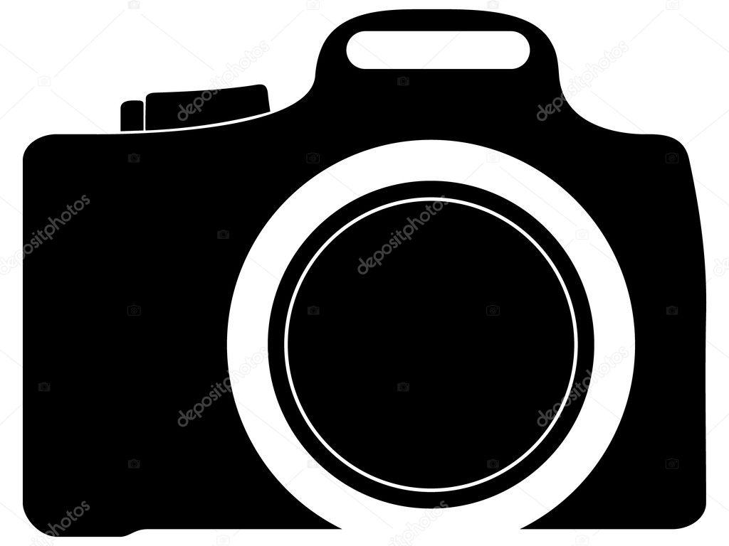 照片的照相机图标 — 矢量图片作者