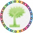 Ecological tree — Stock Vector #7923317