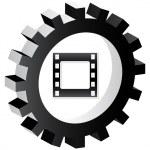 Media button — Stock Vector #7923715