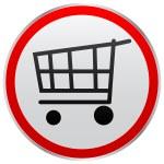 Cart button — Stock Vector #7924575