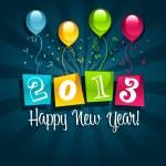 Happy New Year 2013 — Stock Vector #13883532