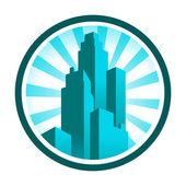 Skyscraper Icon — Stock Vector