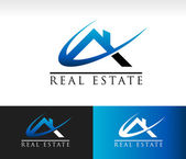 Real Estate House Roof Icon — Stock Vector