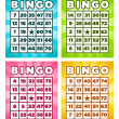 Royalty-Free Stock Vector Image: Bingo Cards