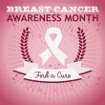 Breast Cancer Ribbon Awareness Poster — Stock Vector #31234059
