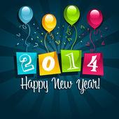 Bonne année 2014 — Vecteur