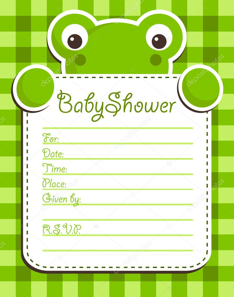 Frog Invitation is awesome invitations design