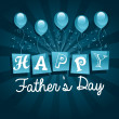 Happy Fathers Day Card — Stock Vector #46759603