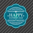 Happy Fathers Day Card — Stock Vector #46828699