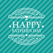 Happy Fathers Day Card — Stock Vector #46828759