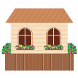 Stock Vector: House.