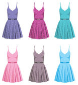 Set of dresses — Stock Vector