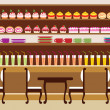 Vector de stock : Cafe...