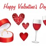 establece el icono del día de San Valentín — Vector de stock