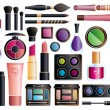 Set of cosmetics - Stockvectorbeeld