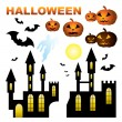 Set of Halloween. — Stock Vector