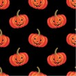 Seamless halloween pattern. — Stock vektor