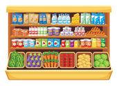 Supermarket. — Stock Vector
