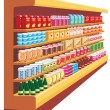 Supermarket. — Stock Vector