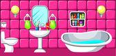 Bathroom.  — Stock Vector
